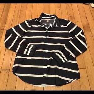 Loft button down shirt sz small